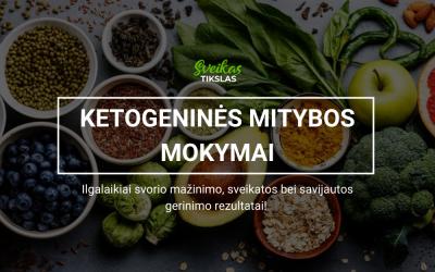 KETOGENINĖS MITYBOS MOKYMAI